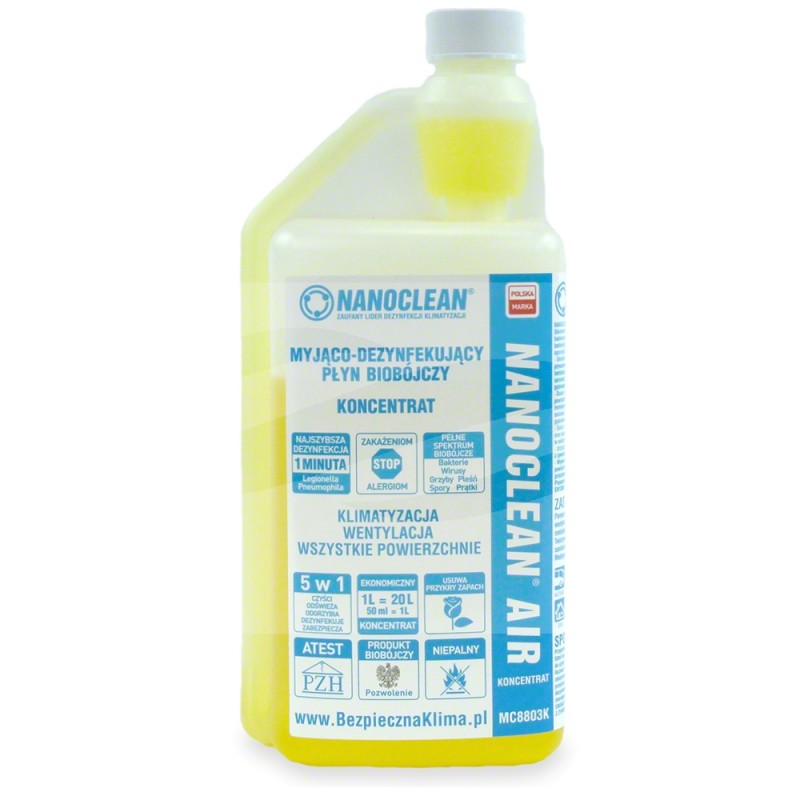 FA248300672 NANOCLEAN Air Koncentrat Cytrusowy 1l